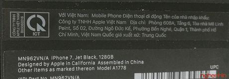 Mo hop iPhone 7 series chinh hang tai Viet Nam - Anh 3