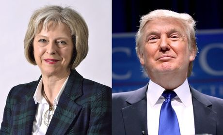 Donald Trump hua hen giao thuong voi Anh - Anh 1