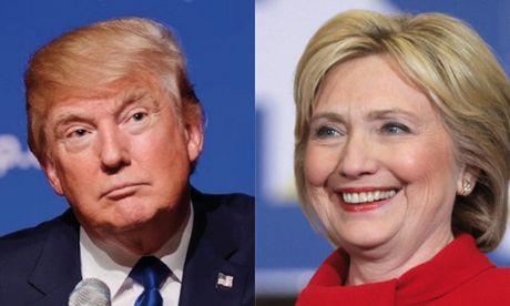 Trump khen Clinton la doi thu tuyet voi - Anh 1
