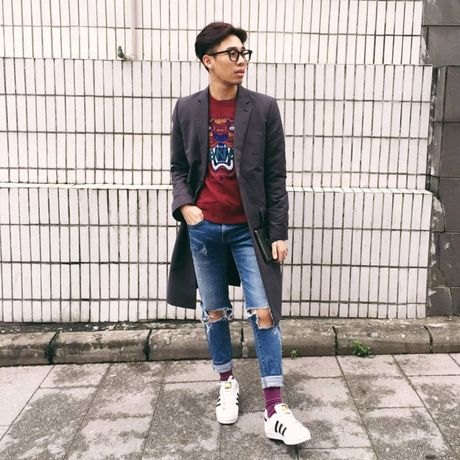 Jeans rach 've nhat' trong cuoc dua nhung mon do yeu thich cua stylist Viet - Anh 2