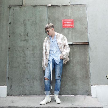 Jeans rach 've nhat' trong cuoc dua nhung mon do yeu thich cua stylist Viet - Anh 8