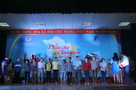 Cong nhan hao hung tham gia Phien cho cong nhan tai Da Nang - Anh 4
