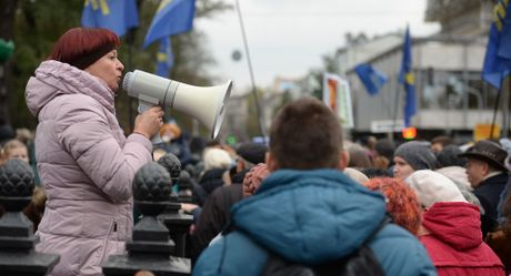 Ukraina cao buoc Nga chuan bi Maidan moi - Anh 1