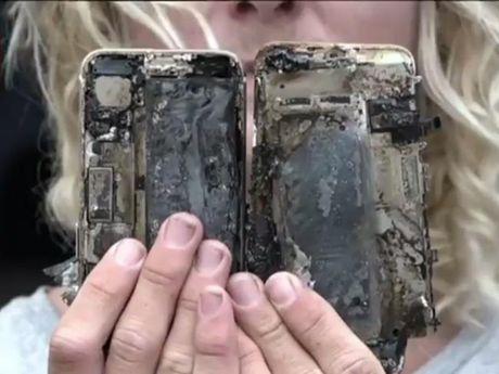 iPhone 7 Plus chay rui sau khi bi roi - Anh 4