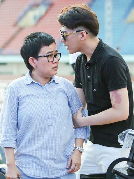 Khong Tu Quynh theo Ngo Kien Huy toi buoi tap live show Noo - Anh 10