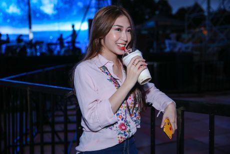 Khong Tu Quynh theo Ngo Kien Huy toi buoi tap live show Noo - Anh 4