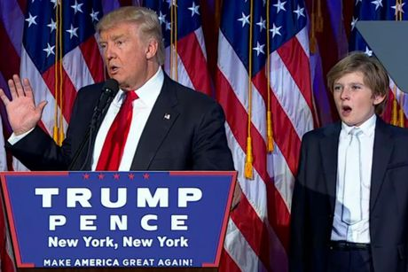 Loat anh au tho cua con trai ut ong Donald Trump - Anh 14