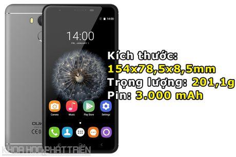 Chi tiet smartphone cam bien van tay, RAM 3 GB, gia sieu re - Anh 3
