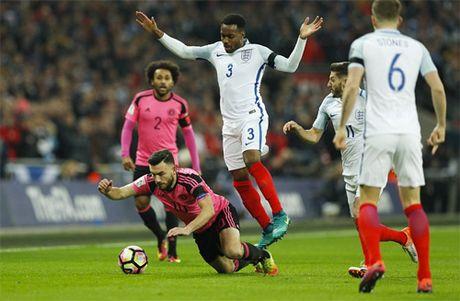 Anh dai thang Scotland bang hat-trick danh dau - Anh 2