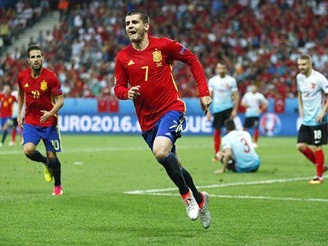 Doi tuyen Tay Ban Nha: Morata, dua tre gio da lon - Anh 1