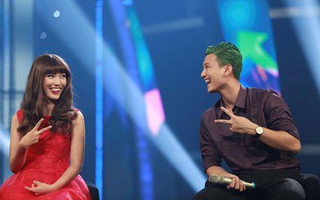 Hoan doi: Cap doi Hoang Oanh - Huynh Anh thi nhau 'lam xau' - Anh 2