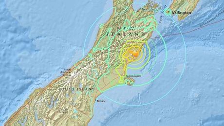Dong dat manh 7,4 do Richter lam rung chuyen New Zealand - Anh 1