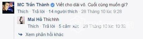 Tran Thanh quan he ngam voi Mai Ho? - Anh 2