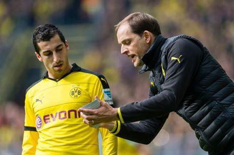 Mkhitaryan roi M.U, tro lai khoac ao Dortmund vao thang 1? - Anh 1