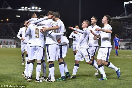 Liechtenstein 0-4 Italy: Sao la toa sang - Anh 1