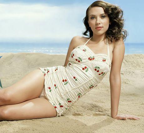 Me man truoc ve goi tinh cua Scarlett Johansson - Anh 10