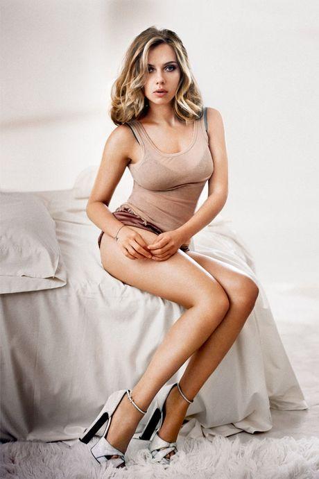Me man truoc ve goi tinh cua Scarlett Johansson - Anh 2