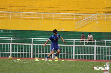 Cong Phuong luyen bai tu truoc khi len duong tham du AFF Cup 2016 - Anh 8