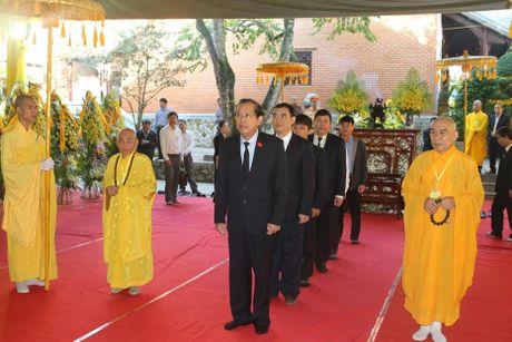 Pho Thu tuong Truong Hoa Binh vieng Hoa thuong Thich Chon Thien - Anh 1