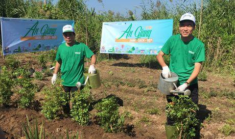 Ra mat Quy Alphanam Green Foundation tai An Giang - Anh 3