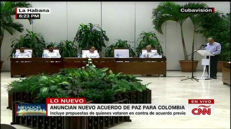 Chinh phu Colombia, FARC ky lai thoa thuan hoa binh - Anh 1