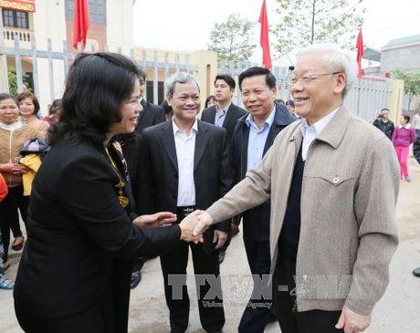 Tong Bi thu du Ngay hoi dai doan ket toan dan toc tai Bac Ninh - Anh 1