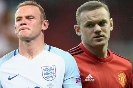 """Rooney, tu MU den DT Anh: """"So 10"""" lac long - Anh 1"""