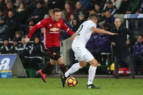 """Rooney, tu MU den DT Anh: """"So 10"""" lac long - Anh 2"""