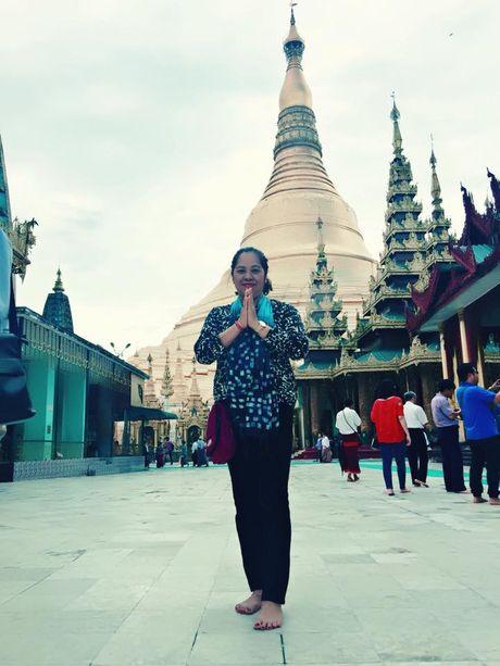 Chiem bai Chua Shwedagon dat vang, gan kim cuong noi tieng o Myanmar - Anh 2