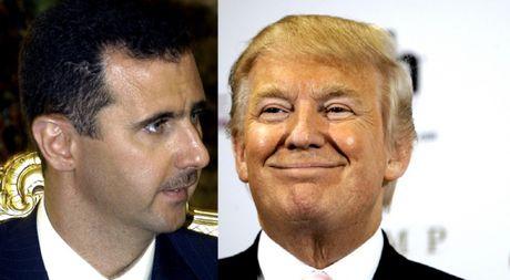 Ong Donald Trump tuyen bo ho tro Tong thong Assad chong IS - Anh 1