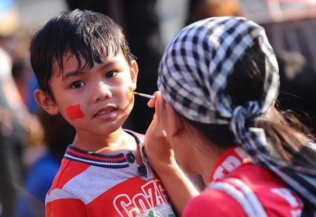 Chum anh: Toan canh tran Viet Nam - Avispa Fukuoka - Anh 12