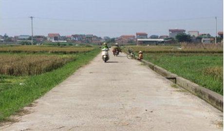 Vinh Tuong, Vinh Phuc: Thao go kho khan cho cac xa hoan thanh xay dung nong thon moi - Anh 2