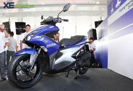 Clip can canh xe tay ga hoan toan moi Yamaha NVX tai Viet Nam - Anh 2