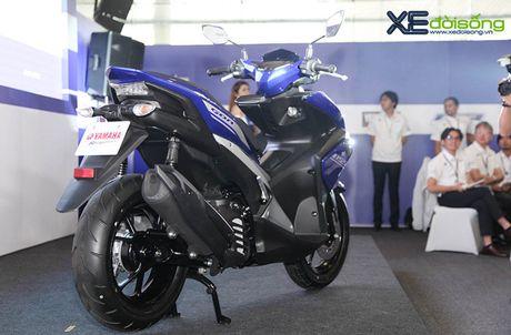 Clip can canh xe tay ga hoan toan moi Yamaha NVX tai Viet Nam - Anh 3