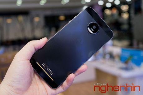 Xem ky smartphone Moto Z vua len ke Viet gia 16 trieu - Anh 4