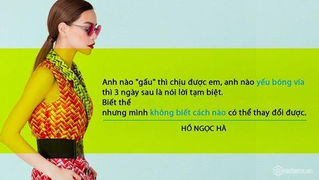 Nhung phat ngon tao bao cua Ho Ngoc Ha ve tinh yeu - Anh 11