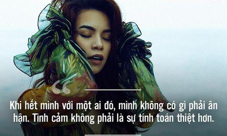 Nhung phat ngon tao bao cua Ho Ngoc Ha ve tinh yeu - Anh 4