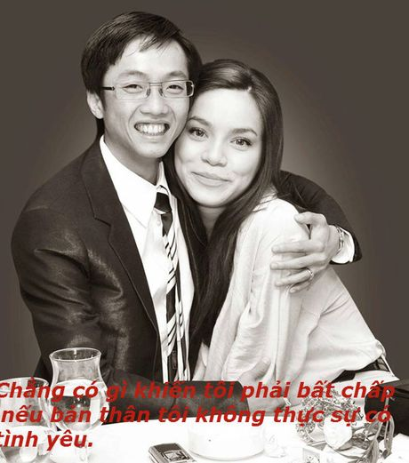 Nhung phat ngon tao bao cua Ho Ngoc Ha ve tinh yeu - Anh 5