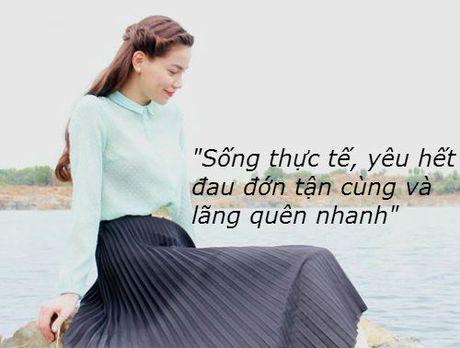 Nhung phat ngon tao bao cua Ho Ngoc Ha ve tinh yeu - Anh 7