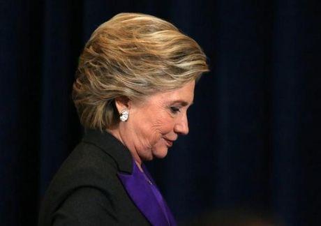 Ba Clinton he lo nguyen nhan that bai truoc ong Trump - Anh 1