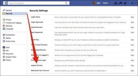 Cach xoa tai khoan Facebook sau khi chet - Anh 1