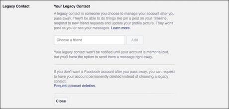 Cach xoa tai khoan Facebook sau khi chet - Anh 2