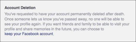 Cach xoa tai khoan Facebook sau khi chet - Anh 4