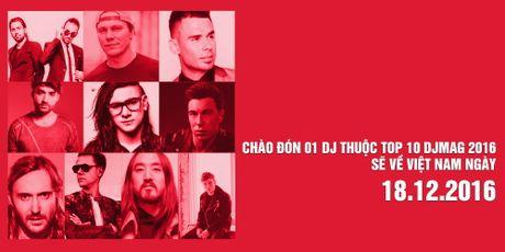 Le hoi am nhac top 10 DJ the gioi va sao Viet  - Anh 1