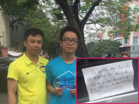 Bai hoc cam on tu nam sinh 'chat' Hai Phong - Anh 1
