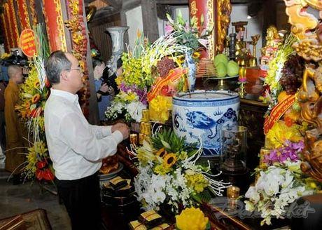 Tong Bi thu, Chu tich Mat tran du Ngay hoi dai doan ket tai thon Phat Tich - Anh 15