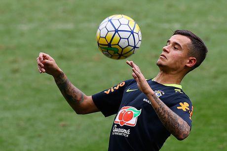 Neymar tro lai tap luyen sau khi sut tung luoi Argentina - Anh 5