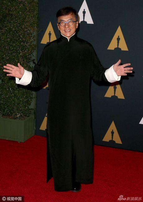 Sao Hollywood te tuu tren tham do Oscar ton vinh Thanh Long - Anh 1