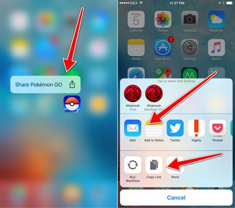 Nhung thu thuat hay khi dung 3D Touch tren iOS 10 - Anh 9