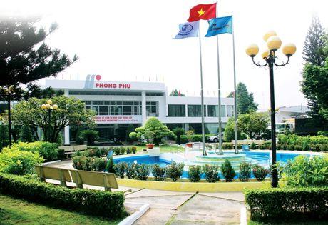 Tong cong ty co phan Phong Phu: Doanh thu giam, loi nhuan tang - Anh 1